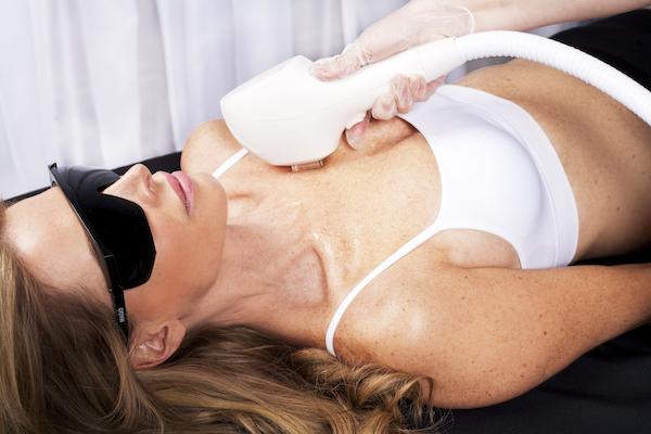 skin rejuvenation on chest