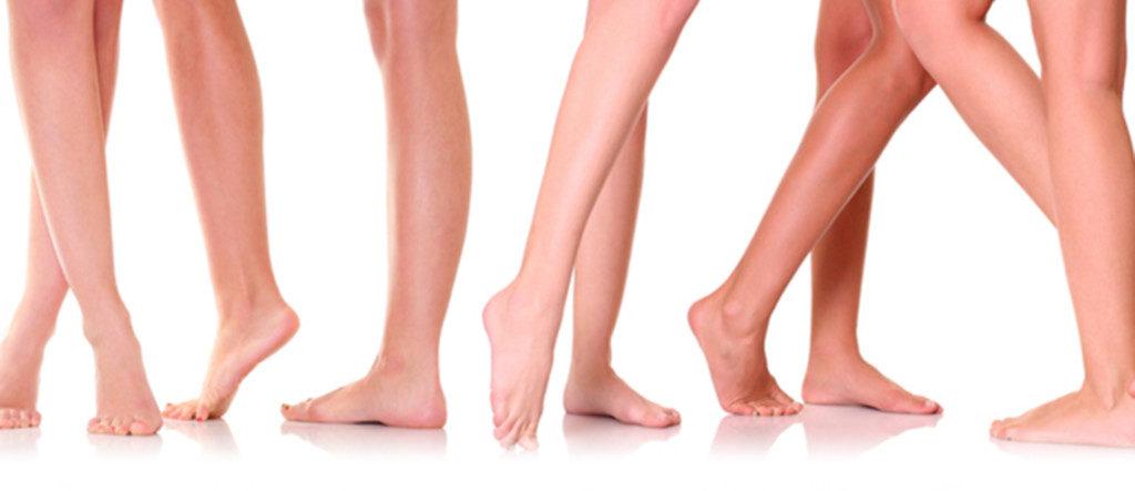 bare legs