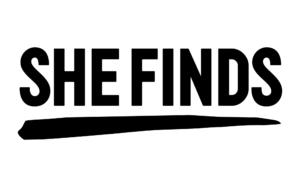 she finds logo